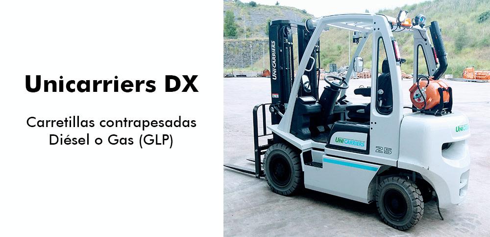unicarriers dx carretillas-contrapesadas-diesel-gas-glp-lejarza-maquinaria-alquiler-venta-demostracion